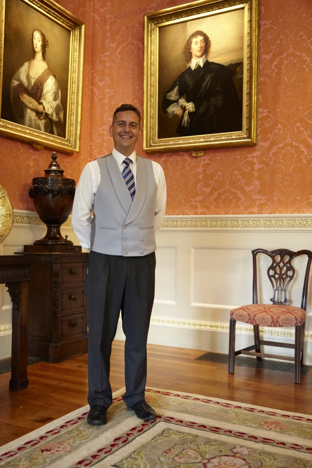 Photo of Graeme Currie, the Head Butler at Weston Park