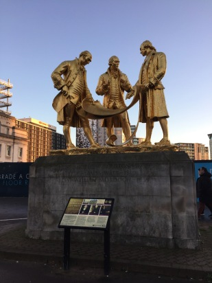 The Golden Boys statue