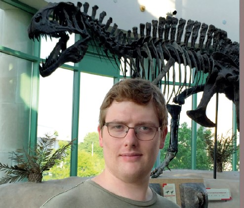 Dr David Button, who works at NHM in London