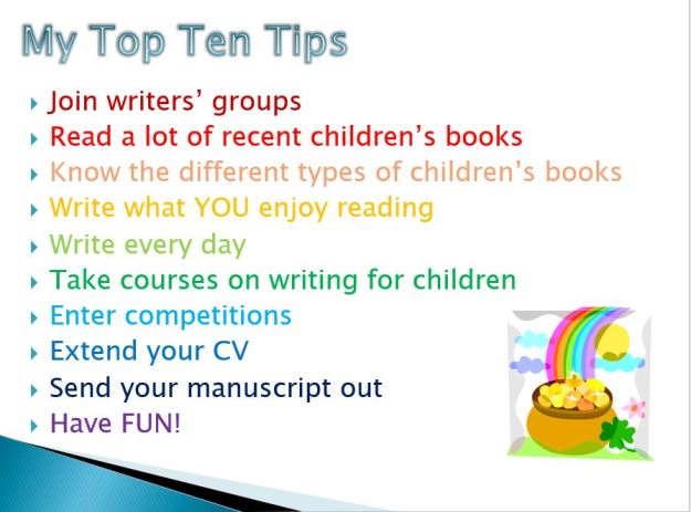 My top ten tips
