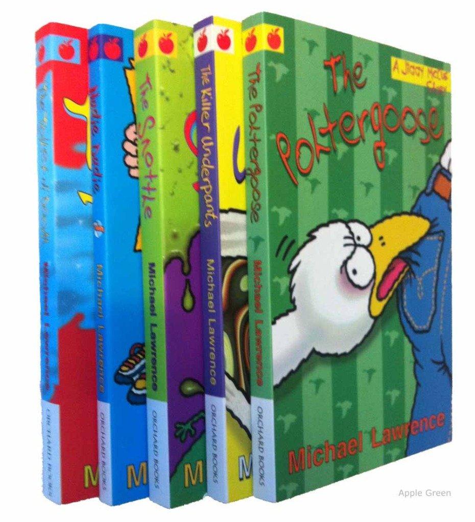 Jiggy McCue books